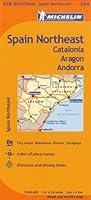 Michelin Spain Northeast: Catalonia, Aragon, Andorra