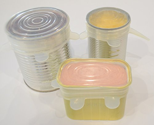 spice 39 n spoon baking dishwasher safe silicone lids 6 pack home garden kitchen dining food. Black Bedroom Furniture Sets. Home Design Ideas