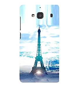 Vizagbeats Eiffel Tower in Ice Back Case Cover for Xiaomi Mi 2S