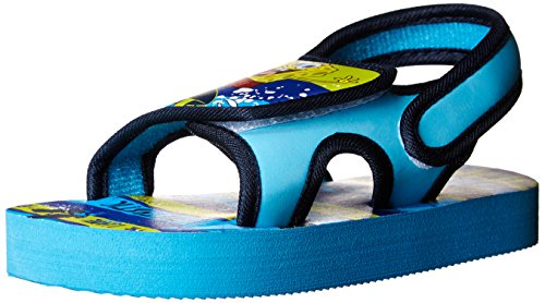 Nickelodeon Dora The Explorer Sponge Bob Waves Backstrap Sandal (Toddler),Blue,6 M Us Toddler