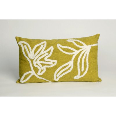 Windsor Rectangle Indoor/Outdoor Pillow Color: Lime