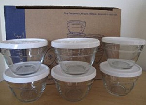 Pampered Chef 1 Cup Prep Bowl Set (Pampered Chef Lids compare prices)