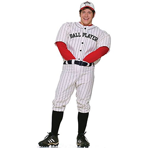 Professional Ball Player Adult Costume - Standard