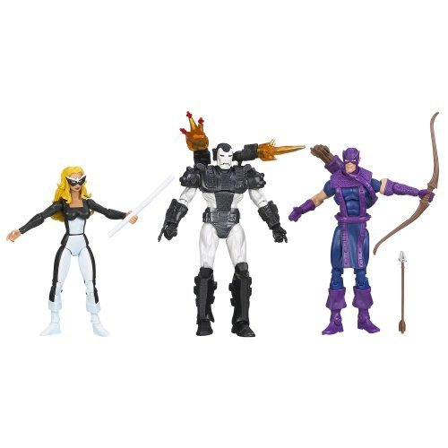 Marvel Universe The West Coast Avengers Figure 3-Pack 4 Inches by Hasbro (English Manual) bestellen
