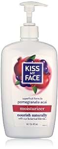 Kiss My Face Pomegranate Acai Moisturizer, 16 Ounce