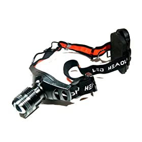 Camping Hiking 300 Lumen CREE LED Headlamp