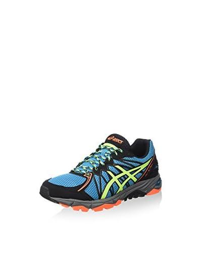 Asics Zapatillas de Running Gel-Fujitrabuco 3 Neutral Azul / Amarillo / Onix