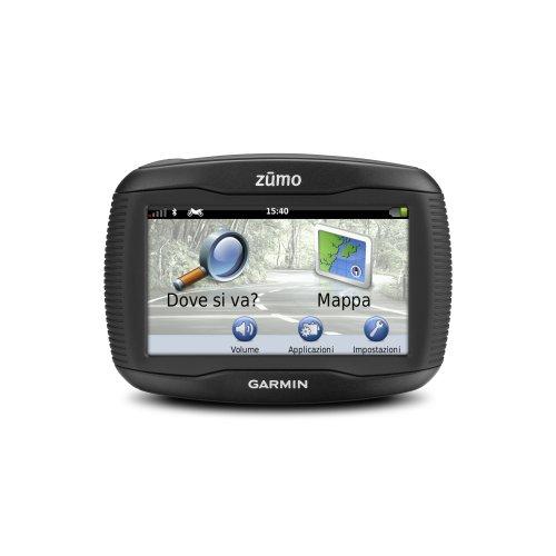 Garmin zumo 350LM - Navigatore Moto, Impermeabile IPX7, Schermo touch 4.3