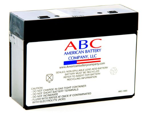 RBC10 Replacement Batterycartridge By American Battery CoB0000EI96N