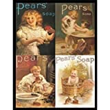 P2201 PEARS SOAP COLLAGE VINTAGE STYLE NOSTALGIC POSTER PRINT