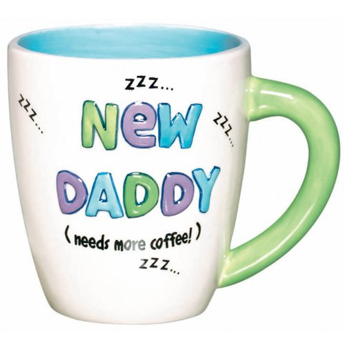 Amscan 191725 Ceramic New Daddy Mug