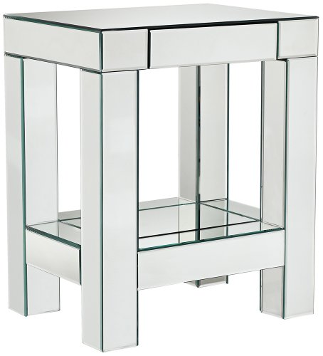 Roux Mirrored Accent Table front-1049381