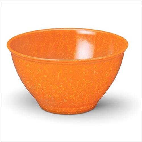 Rachael Ray Tools Garbage Bowl with Non-Slip Rubber Base, Orange