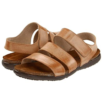 Naot Women's Laura Biscuit Leather Sandals 37 M