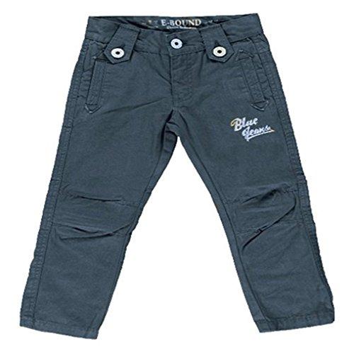 Jungen Hose Größe 98-116,Jungen Stoffhose Chinohose Blau grün Braun 98 104 110 116 (98, Blautöne)