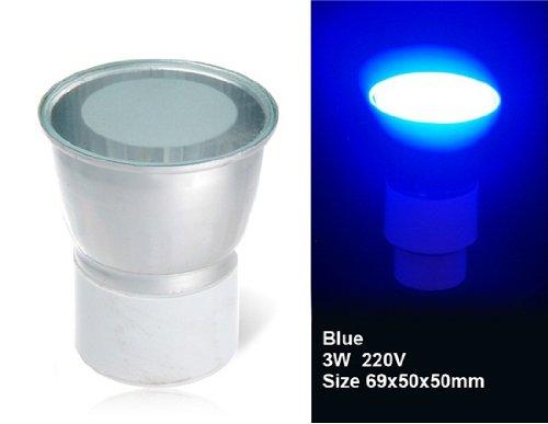 Wrui3W Gu5.3 18X3528 Blue Led Spotlight