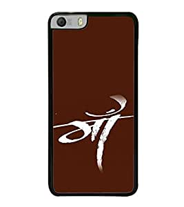 Maa 2D Hard Polycarbonate Designer Back Case Cover for Micromax Canvas Knight 2 E471