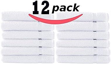 12 Piece White Hand Towel Set - Irr39s -16quot x 28quot