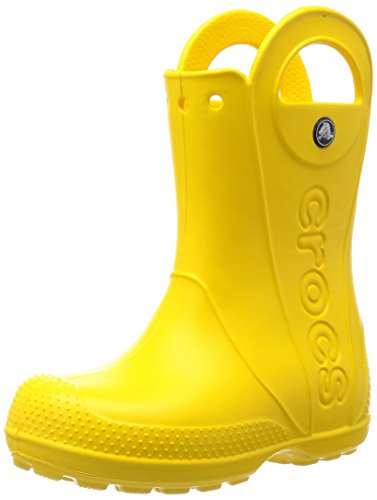 crocs Handle It Rain Boot, Unisex-Kinder Kurzschaft Gummistiefel, Gelb (Yellow 730), 29/30 EU (C12 Unisex-Kinder UK)
