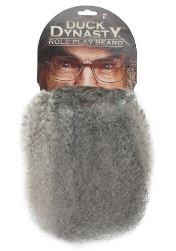 Duck Dynasty Child Si Role Play Beard Standard front-184957