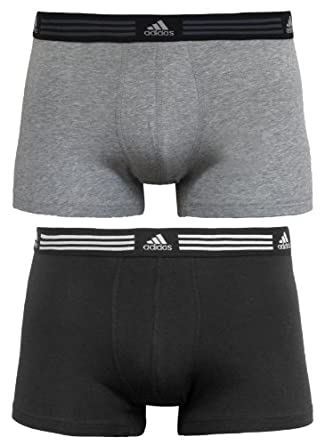 Buy adidas Mens Athletic Stretch 2-Pack Trunk by adidas