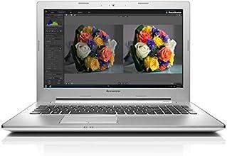 """Lenovo Z50-70 Ordinateur portable 15"""" Blanc (Intel Core i7, 8 Go de RAM, Disque dur 1 To, Nvidia GeForce GT820M, Mise à jour Windows 10 gratuite)"""