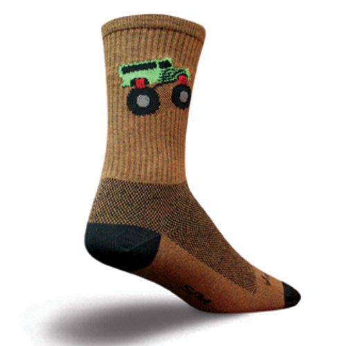 Buy Low Price Sock Guy Monster Truck Socks (B0041R92YS)