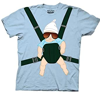 """The Hangover Baby Carrier T-Shirt - Offically Licensed (Small 34-36"""")"""