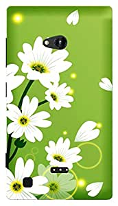 TrilMil Printed Designer Mobile Case Back Cover For NOKIA LUMIA 720