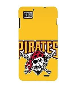 EPICCASE angry pirate Mobile Back Case Cover For Lenovo K860 (Designer Case)