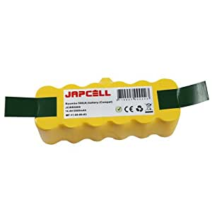 JAPCELL batterie pour iRobot Roomba 500 Series (80501 iRobot Roomba R3 500 510 530 532 535 540 550 560 562 570 580 581 582 Discovery Series Robotic Vaccums)