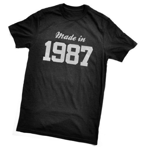 Made in 1987 T-Shirt - fun birthday gift - wrapping