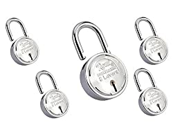 Remi Double Pad Lock 75Mm 8-Levers Pack Of 5