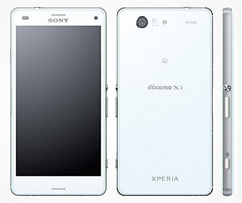 Xperia Z3 Compact SO-02G docomo [White] 白ロム