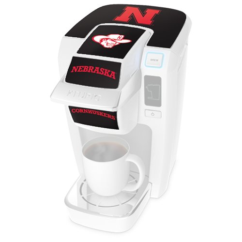 Keurig K10 Mini Plus Brewer University Of Nebraska Decal Kit