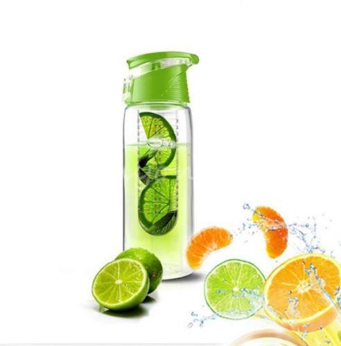 ordel-800ml-water-infuser-infusor-bottle-flavour-fruit-fuzer-juice-mixer-maker-bpa-free-green