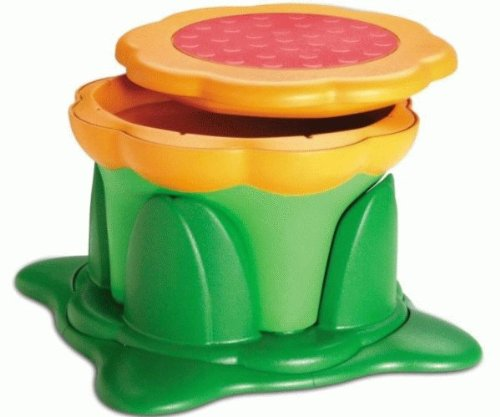 Kids Kit Kiddy-Bin Stool - Green