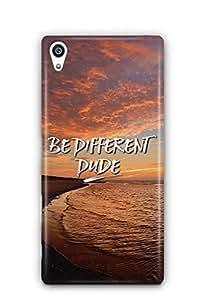 YuBingo Be Different Dude Designer Mobile Case Back Cover for Sony Xperia Z5 Premium