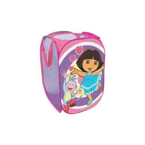 Childrens/Kids Dora the Explorer Pink Pop Up Room Tidy (35 cm x 35 cm x 53 cm) (Pink)