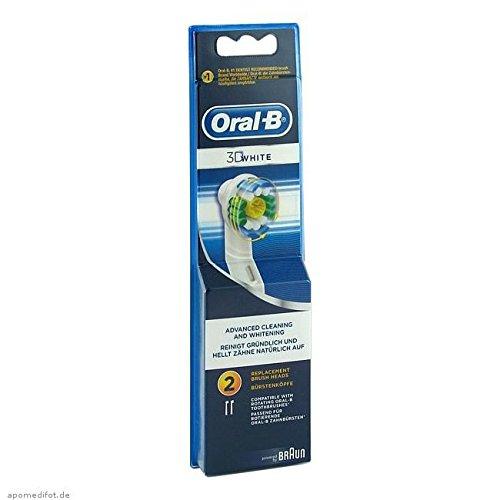 Oral-B Aufsteckbürsten 3D White 2er, 2 St