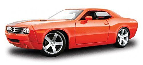 dodge-challenger-concept-orange-maisto-premiere-36138-1-18-scale-diecast-model-toy-car-by-maisto