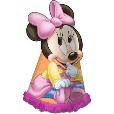 Hallmark Minnie's 1st Birthday Guest of Honor Hat - 1
