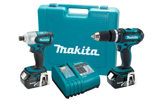 Makita-LXT211-18-Volt-LXT-Lithium-Ion-Cordless-2-Piece-Combo-Kit