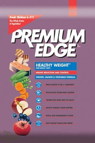 Image of Premium Edge Dry Food for Adult Cats, Healthy Weight Reduction and Control Formula, Chicken Flavor, 18-Pound