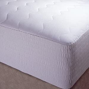 100% Pima Cotton Mattress Pad Size: Queen