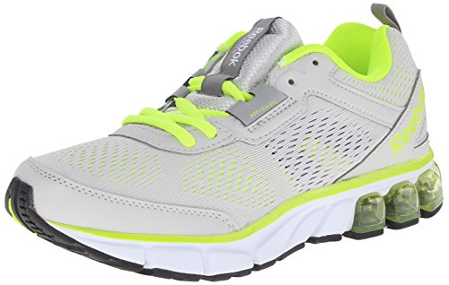 Reebok Women's Jet Dashride Running Shoe, Steel/Solar Yellow/Solar Green/White/Flat Grey/Gravel, 7.5 M US (Sneakers For Flat Feet Women compare prices)