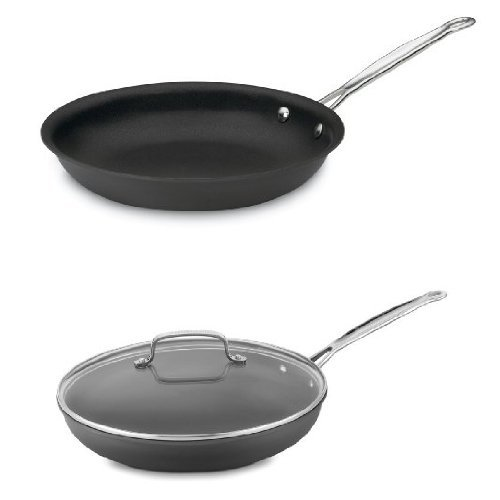 Cuisinart Hard-Anondized 12-Inch Skillet and 10-Inch Skillet Bundle
