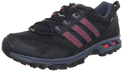 adidas Performance Men's Black/Red Kanadia 5 TR GTX Running Shoes 9 UK