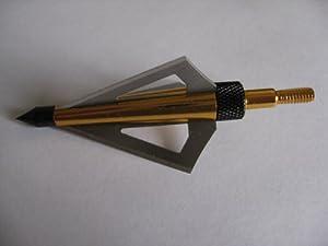 96 Pcs 125gr 3 Blades Golden Lightning Hunting Broadhead