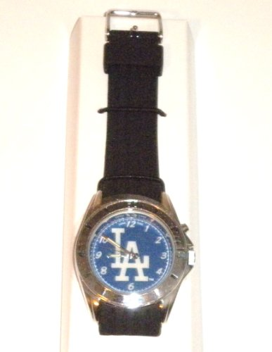 Los Angeles Dodgers MLB Men's Watch with Light at Amazon.com